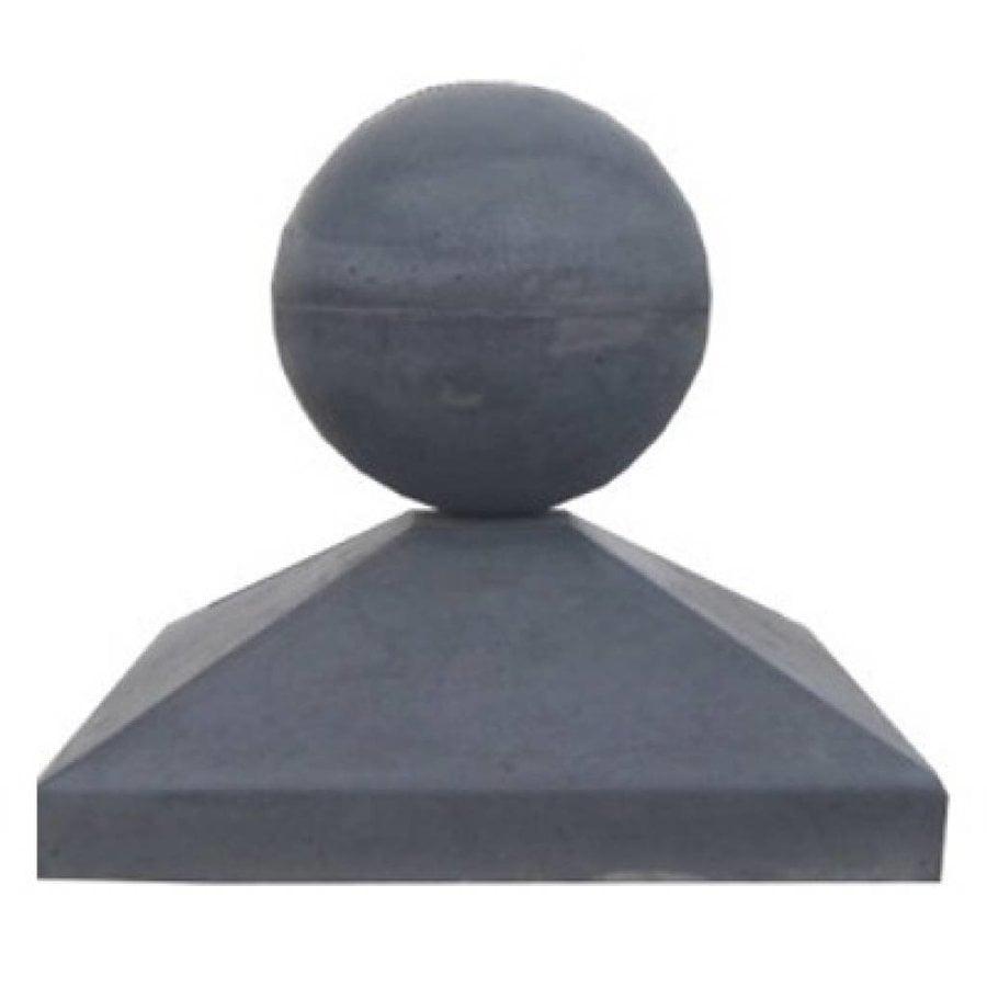 Paalmutsen 65x65 cm met een bol van 28 cm