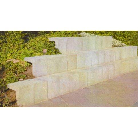 U element beton 20x15x30 grijs