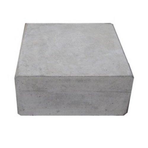 Hoeksteen grijs 32x32x10 cm