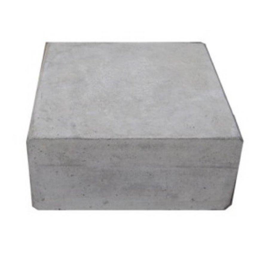 Hoeksteen 32x32X10cm grijs
