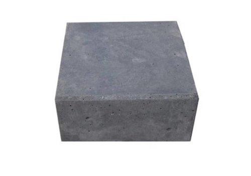 Hoeksteen antraciet 32x32x10 cm