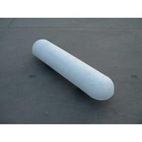 Varkensrug beton 2 kanten rond wit