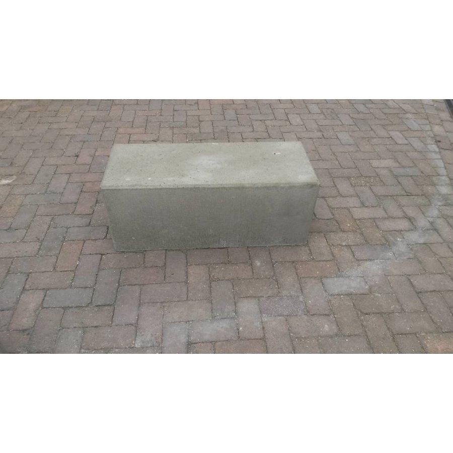 Betonnen zitbank 100 cm grijs