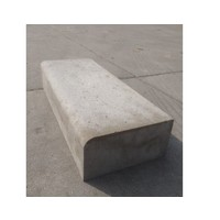Traptreden grijs 15x30x100 cm Oud Hollands