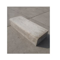 Betonnen traptreden 15x50x100 cm grijs Oud Hollands