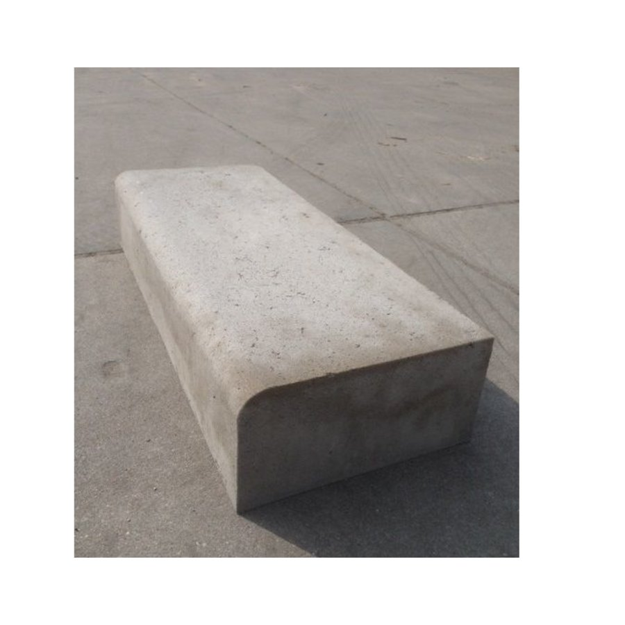 Betonnen traptreden 20x40x100 cm grijs Oud Hollands