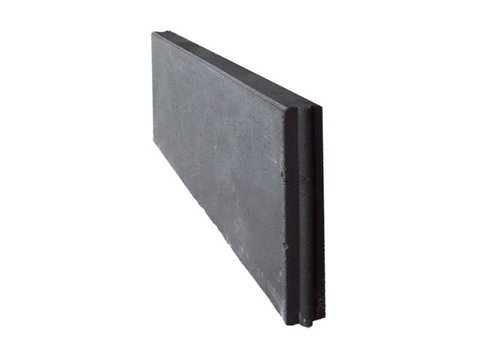 Opsluitband antraciet 7x40x100 cm