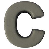 Beton letter c