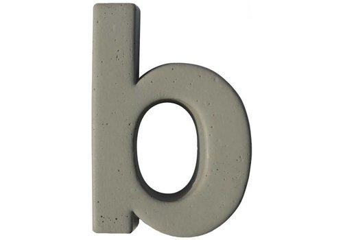 Beton letter b