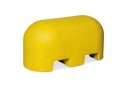 Jumboblok met lepelgaten geel