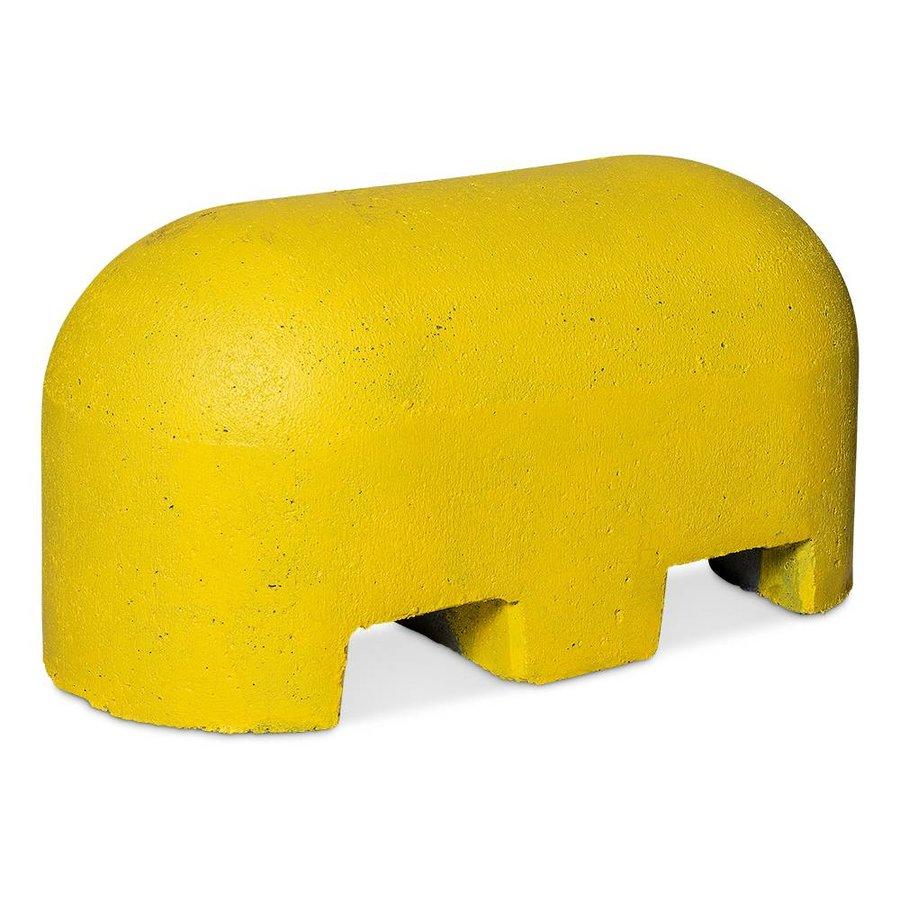 Jumboblokken geel met lepelgaten