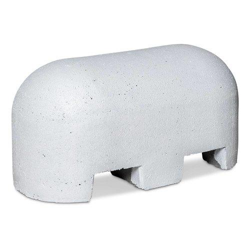 Jumboblokken wit met lepelgaten