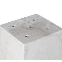 Prefab Betonpoer 25x25x70 cm 1x M16 of 4x M12