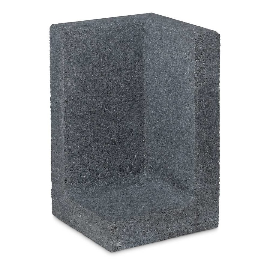 L-elementen hoek 60cm antraciet