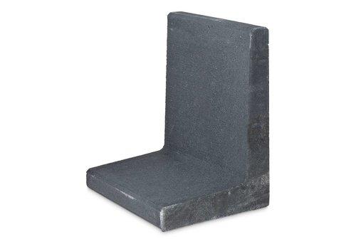 L-elementen antraciet 80 cm hoog, 50 cm breed