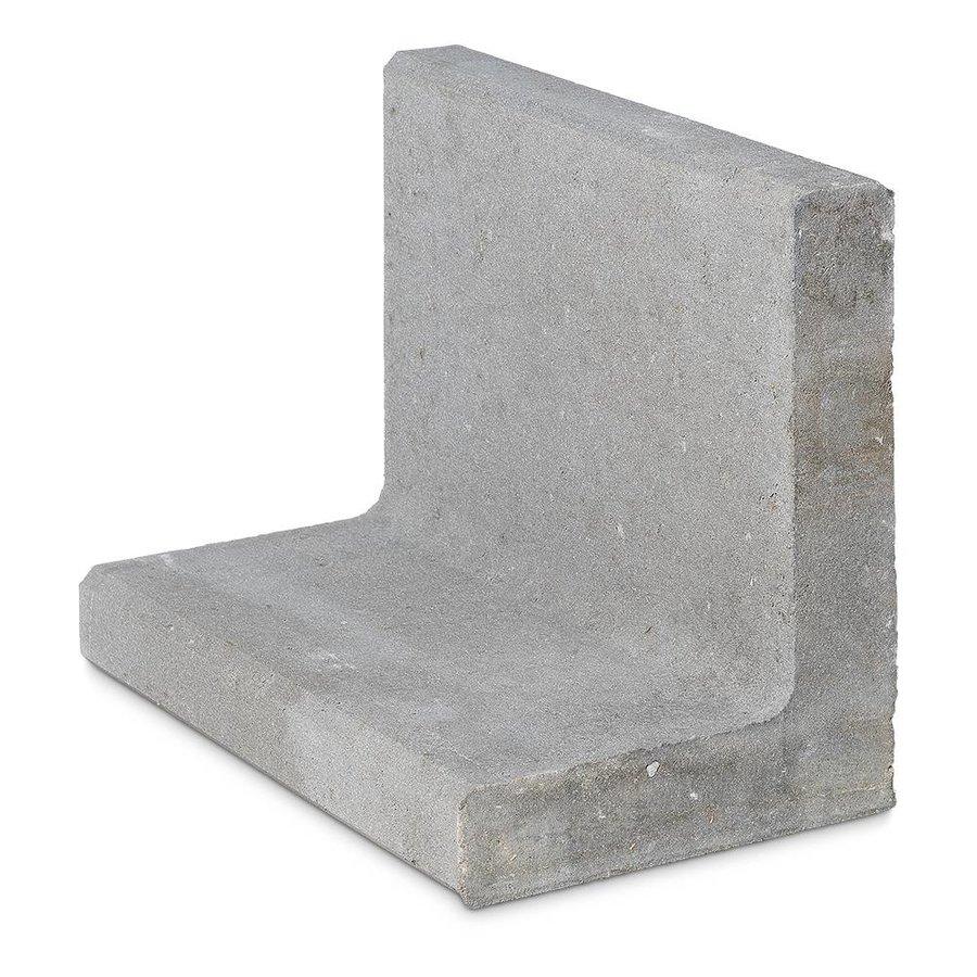 L-Elementen hoog 50 cm grijs