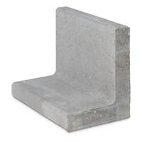 L-elementen grijs 40 cm hoog, 50 cm breed