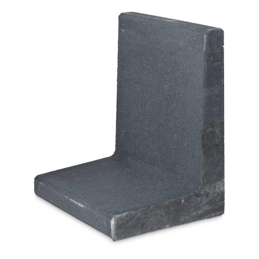 L-elementen antraciet 60 cm hoog, 50 cm breed