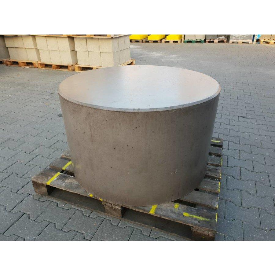 Betonnen poef Ø100cm, H70cm