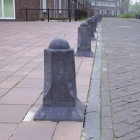 Amsterdammertjes (type 1) antraciet H 80 cm