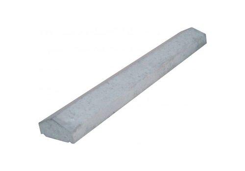 Muurafdekkers 2-zijdig, grijs 17cm x 100cm