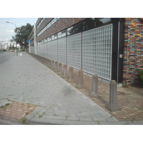Amsterdammertje type 1 grijs 80 cm
