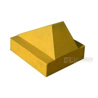 Schrikblok /schampblok geel