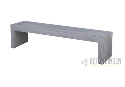 Betonnen Tuinbank grijs antraciet 180 cm