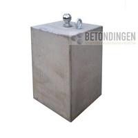 Prefab Betonpoer 30x30x50 cm met trekhaak