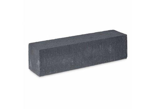 Stapelblok antraciet 15x15x60 cm strak