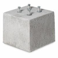 Prefab Betonpoer 30x30x25 cm M12