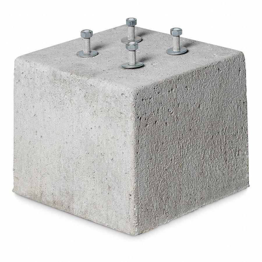 Prefab Betonpoer 30x30x25 cm draadeind
