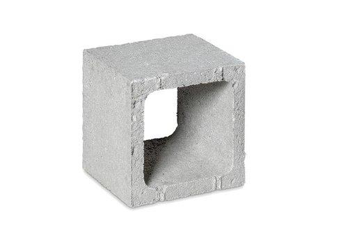 Open betonblokken 20x20x20