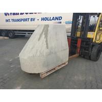 Ramblok grijs 150x100xH125 cm