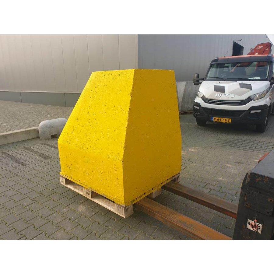 Ramblok geel 150 x 100 x H 125cm