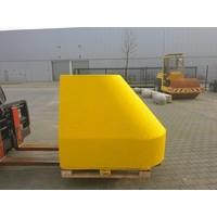 Ramblok 150x100x125 cm geel