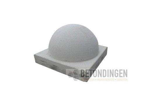 Parkeerbol klein op voet grijs Ø35 cm
