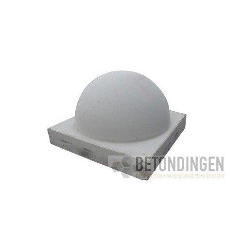 Parkeerbol op voet Klein grijs Ø 35 cm