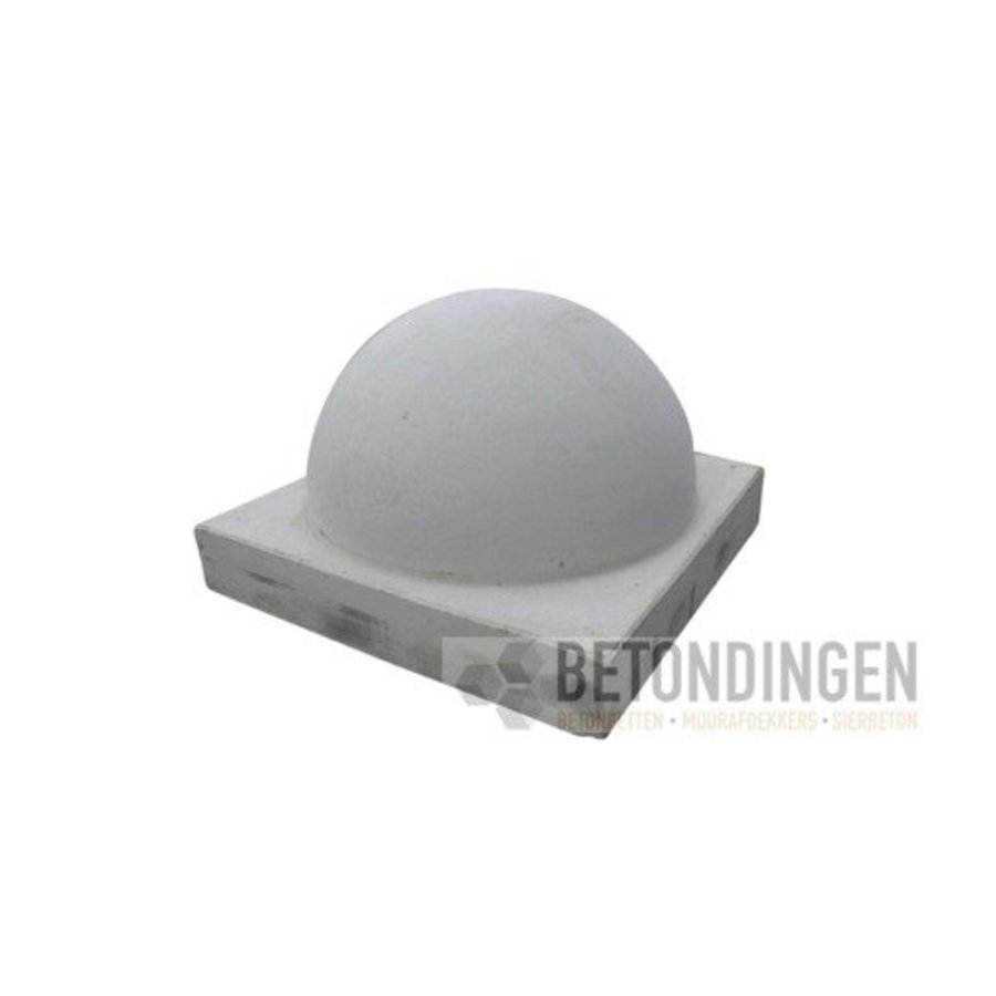 Parkeerbol op voet Klein grijs ∅ 35cm