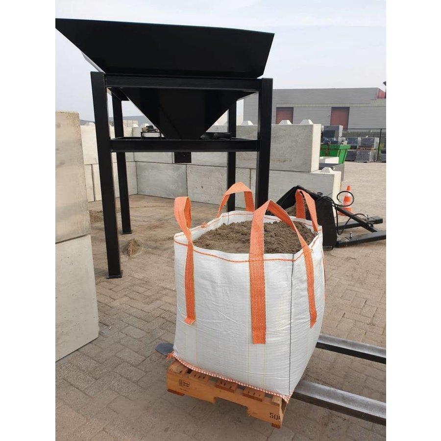 Big bag ophoogzand / straatzand 0,5 m3