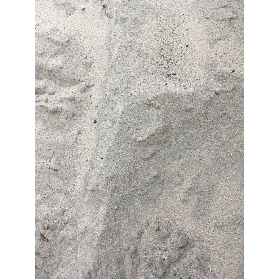 Los gestort ophoog/straat zand 1m³