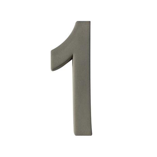 Huisnummer GROOT nr.1