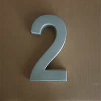 Huisnummer groot nr. 2
