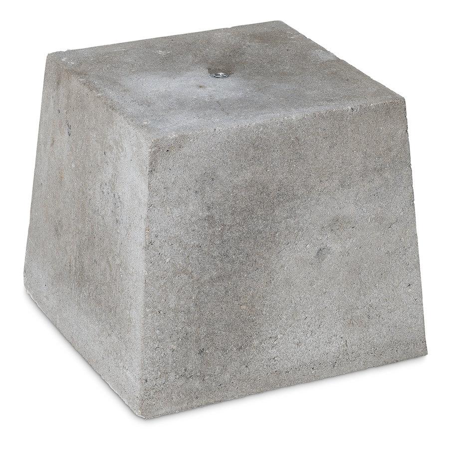 Prefab Betonpoer grijs 30x30x30 cm M16