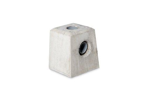 Prefab Betonpoer grijs hwa 21x21x28 cm