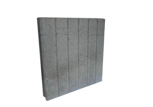 Quadro band grijs 8x50x50 cm