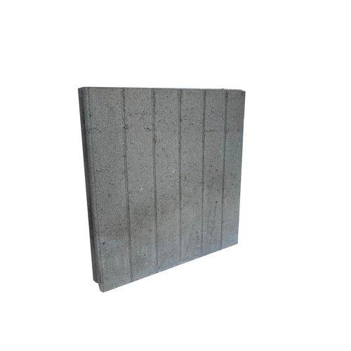 Palissadebanden 8x50x50 quadro grijs