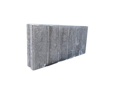Palissadebanden 8x25x50 quadro grijs