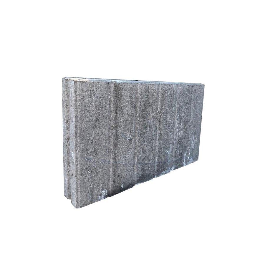 Palissadebanden 8x35x50 quadro grijs