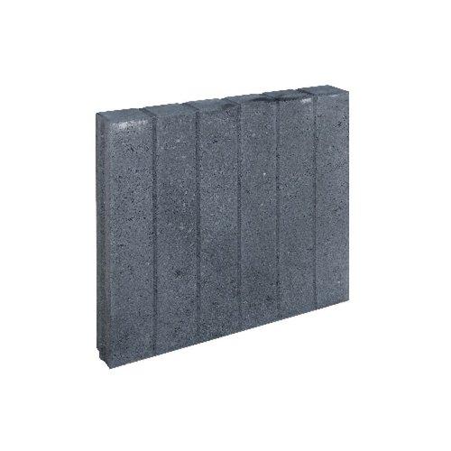 Quadroband antraciet 8x50x50 cm